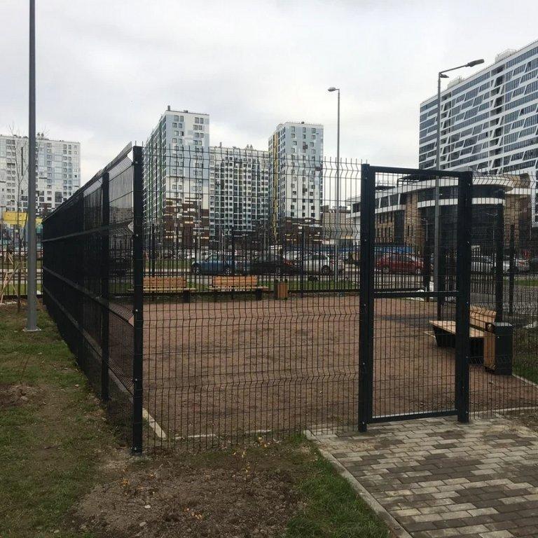 Секционный забор Dirickx (Франция)